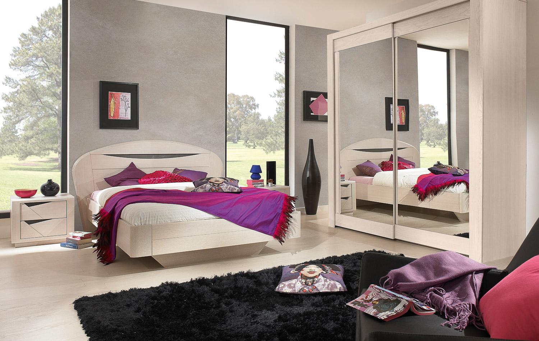 Chambre et literie rose meubles devin saint quantin 80 for Chambre et literie