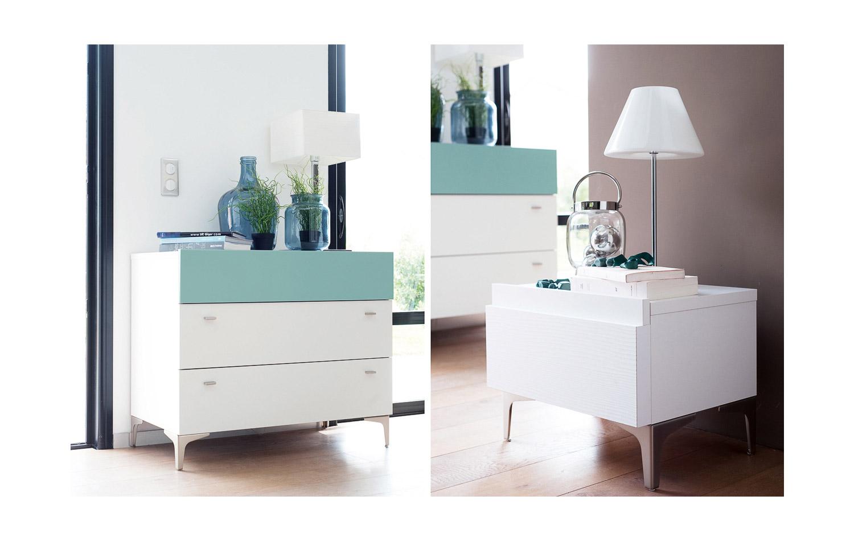 Chambre et literie elise meubles devin saint quantin 80 for Chambre technique