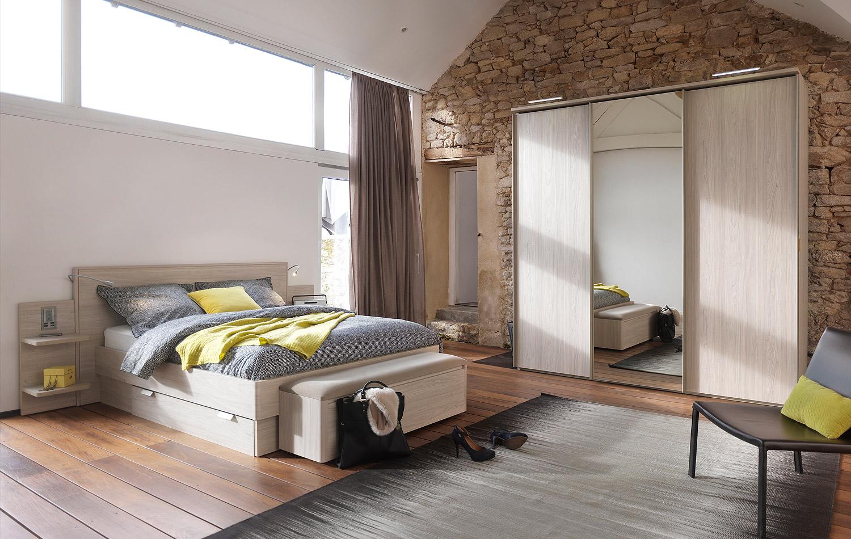 Chambre et literie xl meubles cordesse loz re for Chambre technique